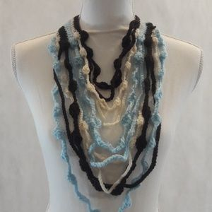 Maxi Collar, Necklace,Handcrafted, Layers